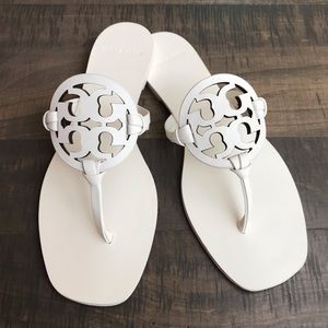 Tory Burch Miller square toed sandals
